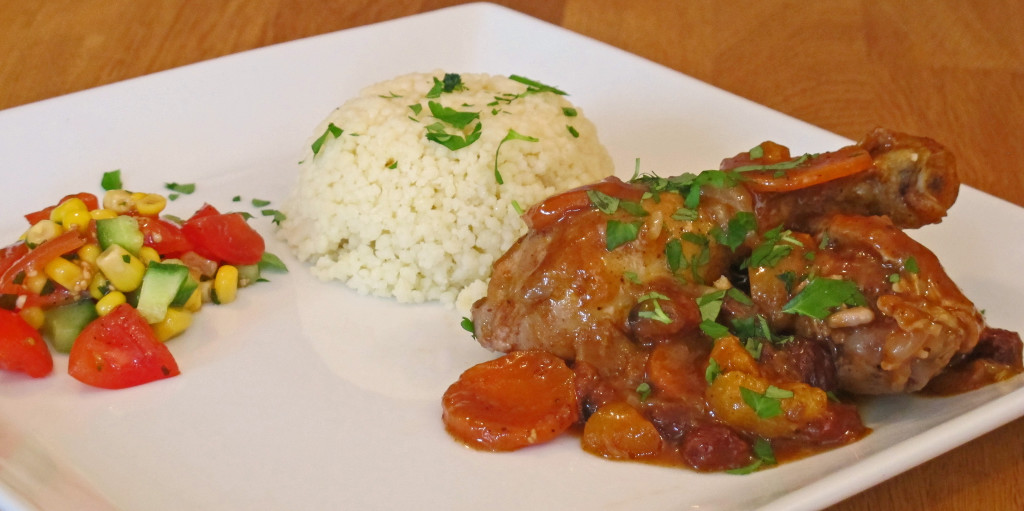Arabic chicken stew
