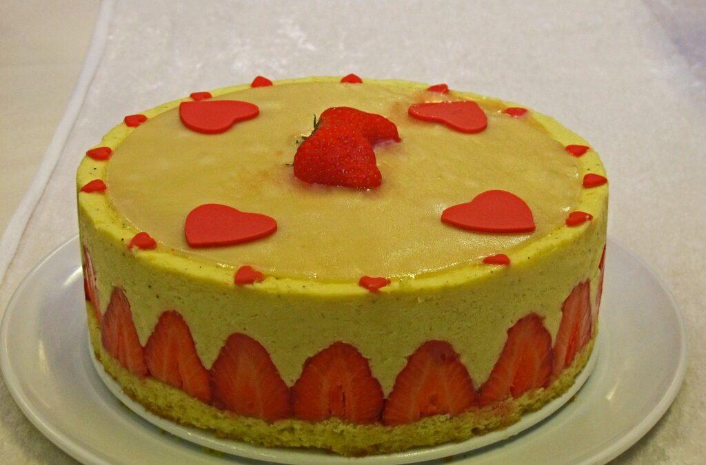 Fraisier kake