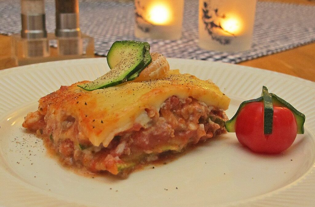 Lasagne ala squash