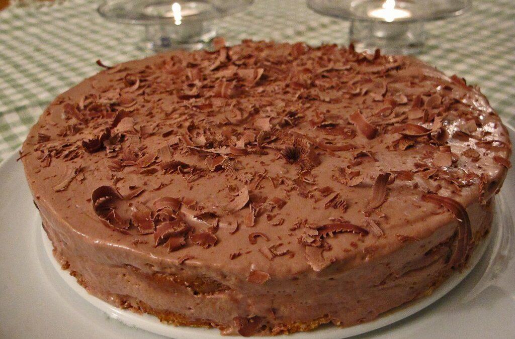 Mokka sjokolademoussekake