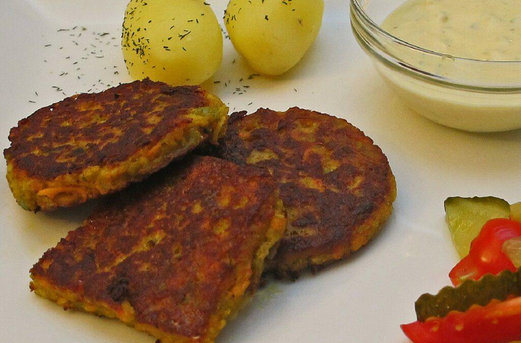 Persisk vegetarburger