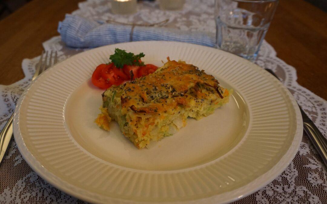 Tyrkisk grønnsaksgrateng